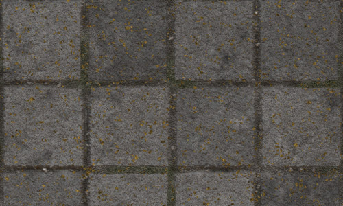 Gray square seamless pavement textures