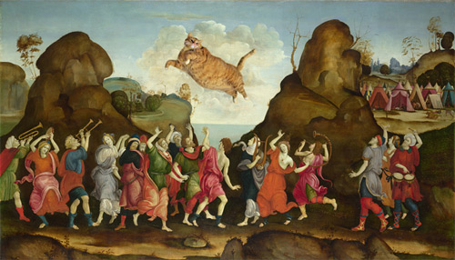 the worship of egyptian bull god Svetlana Petrova featured
