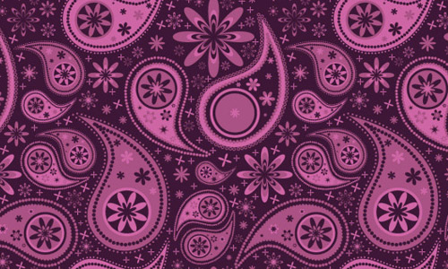 cute paisley free pattern
