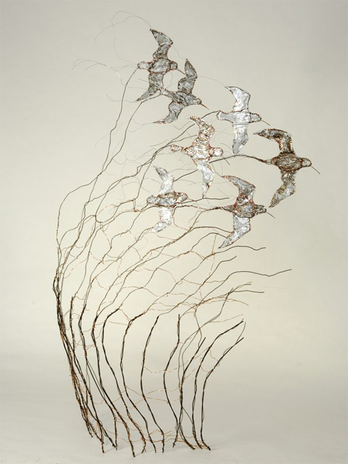 dunlin wires Celia Smith featured