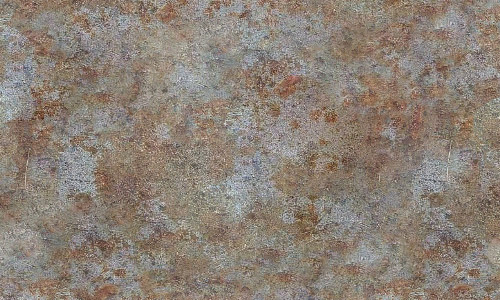 Seamless rusted metal texture
