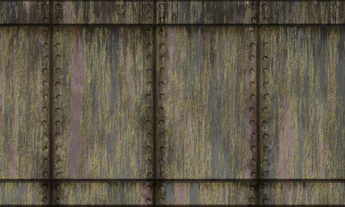 Wall metal texture