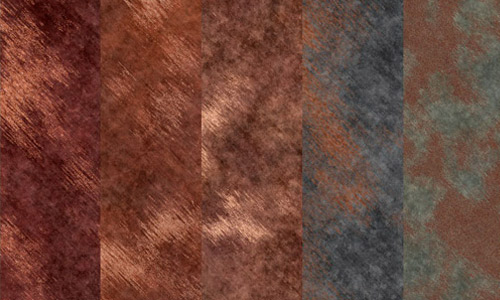 Seamless rusty metal texture pack