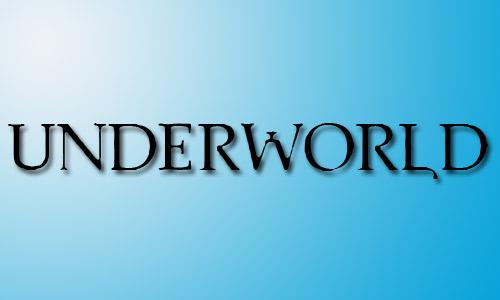 Underworld font movie
