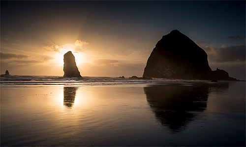 cannon beach wallpapaer HD