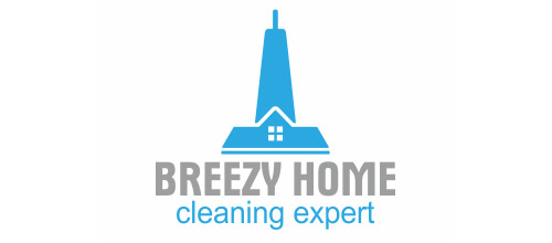 cleaning expert logo design