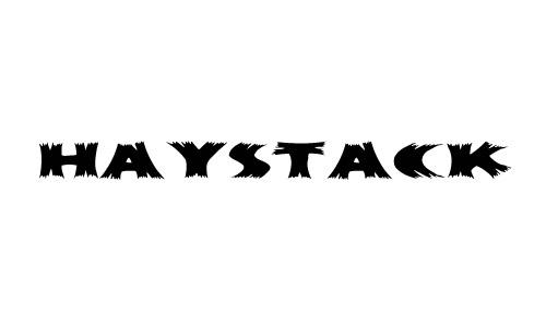 haystack wood fonts