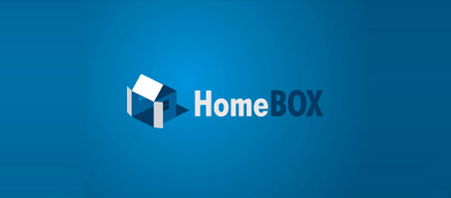 home box logo design