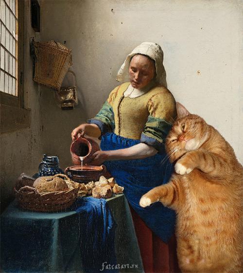 the milkmaid Svetlana Petrova featured