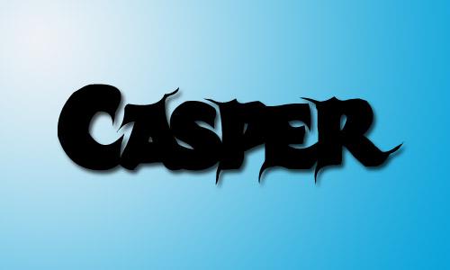 Casper font free