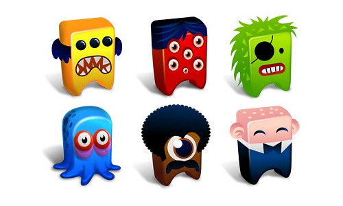 Put your desktop to life with these free monster icons naldz graphics creatures icons free thecheapjerseys Images