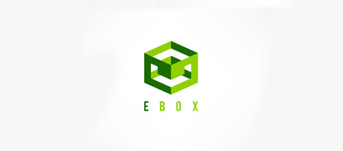 cube box logo design