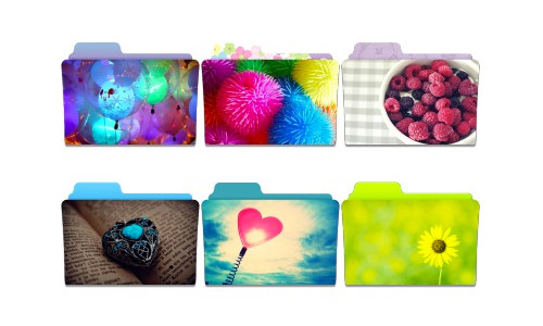 cute folder icons