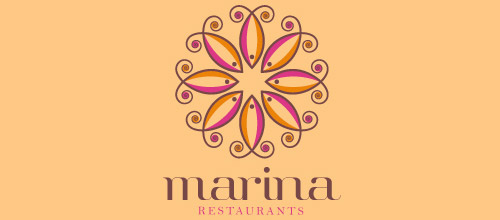 Attractive designs of restaurant logo for your