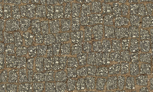 Seamless stone pavement texture