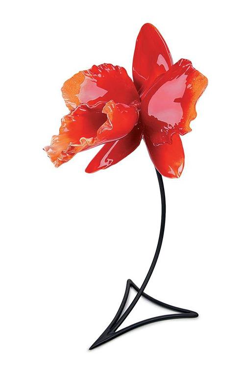 red flower glass art Jason Gamrath featured