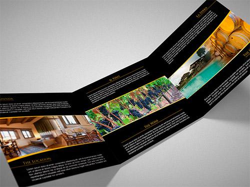 wine brochure designs