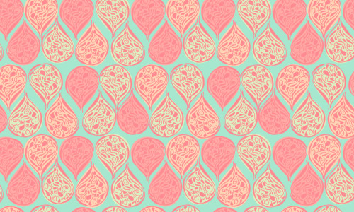 pastel paisley pattern