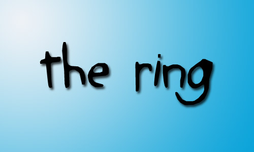 The ring font