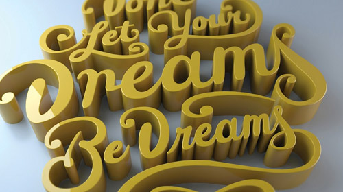 typography cinema 4d tutorial