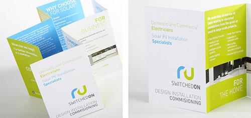 electrician brochure design
