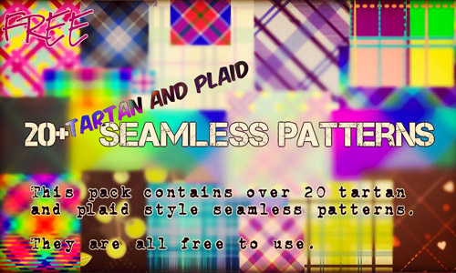 pack plaid patterns free