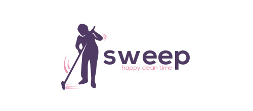 sweep logo design