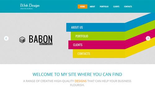 webstudio html theme free