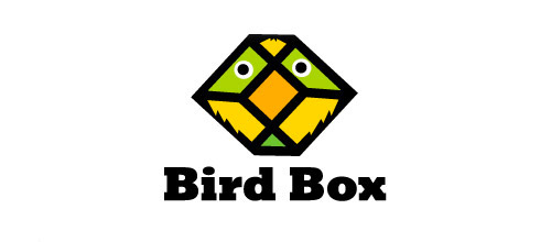 bird box logo design