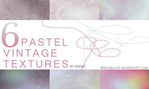 pastel vintage textures