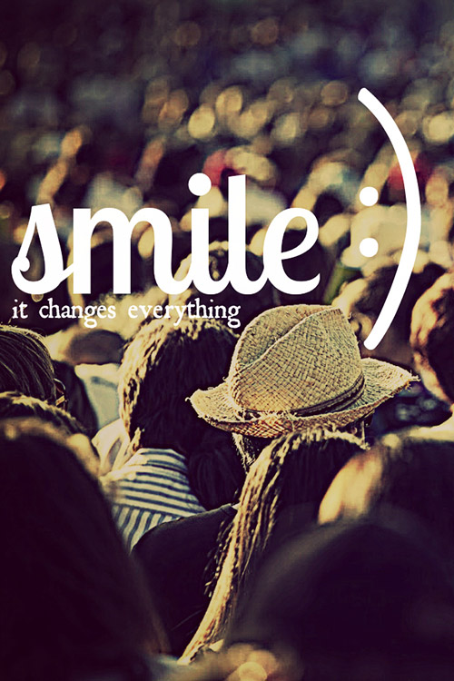 smile iphone wallpaper 4s