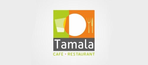 café restaurant logo design