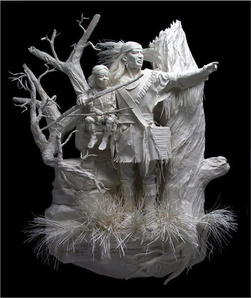 the way cast paper Eckman Fine Art featured