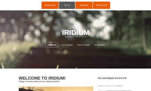 freebie responsive html5 theme