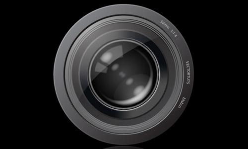 lens icon photoshop icon