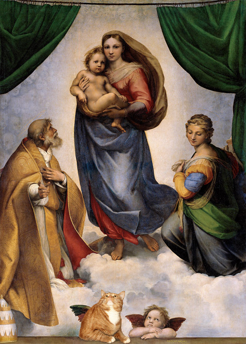sistine madonna Svetlana Petrova featured