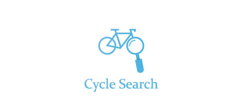 search bicycle logo design