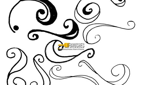 squiggle photoshop brush