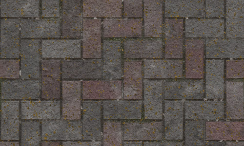Brick pavement seamless texture