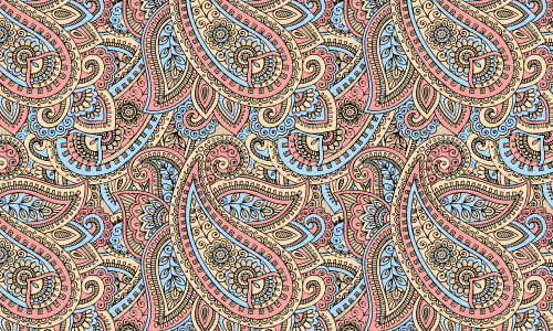 free paisley patterns