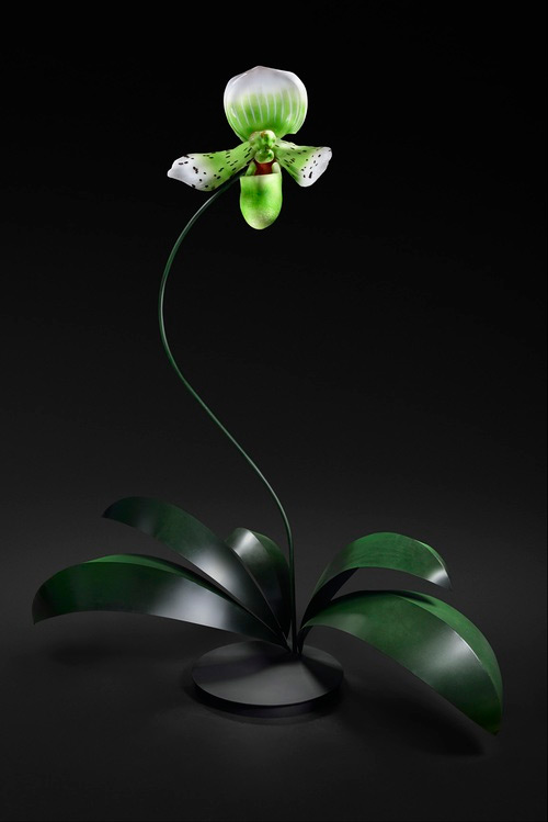 green grass glass art Jason Gamrath featured