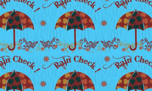 Rain check pattern