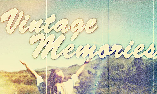 summer vintage templates after effects