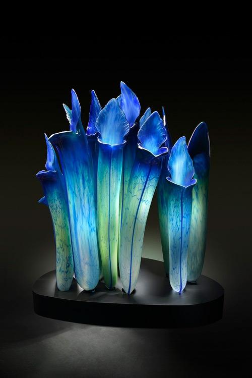 carnivorous plant glass art Jason Gamrath featured