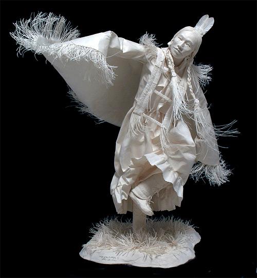 wings of butterfly cast paper Eckman Fine Art featured