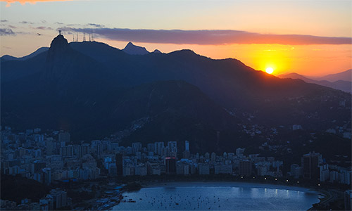 rio de janeiro sunset HD