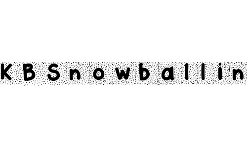 snowball free font