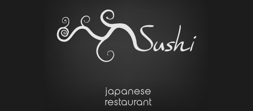 Japanese restaurant logo designs