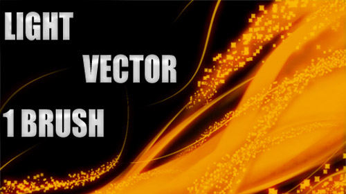 vector light brush