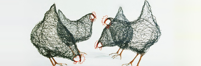 Soar Your Creativity With These Chirpy Birds Made From Wires